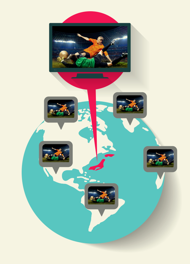 Slingbox(リングボックス)が日本からテレビ映像をインターネットで世界中に転送